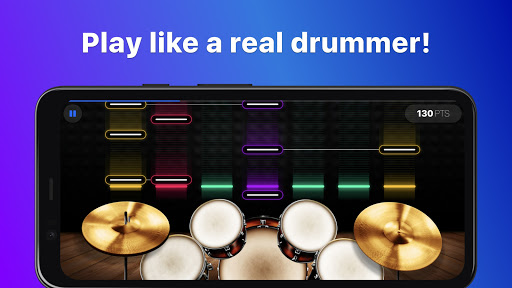 Drums: real drum set music games to play and learn 2.18.01 screenshots 2