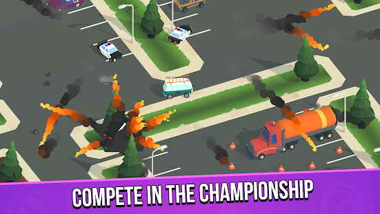 Image For Smash racing: drive from cops, make an epic crash! Versi 6.7.7 2