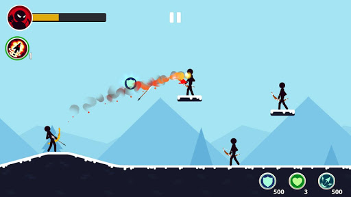 Stickman Archery Master - Archer Puzzle Warrior modiapk screenshots 1
