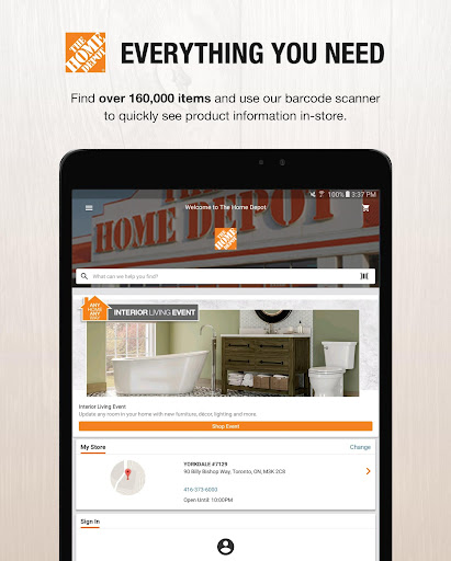 The Home Depot Canada modavailable screenshots 11