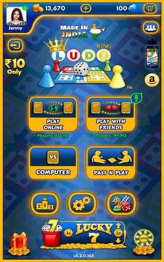 Ludo Kingu2122 - Parchisi Dice Board Game 5.8.0.174 screenshots 10