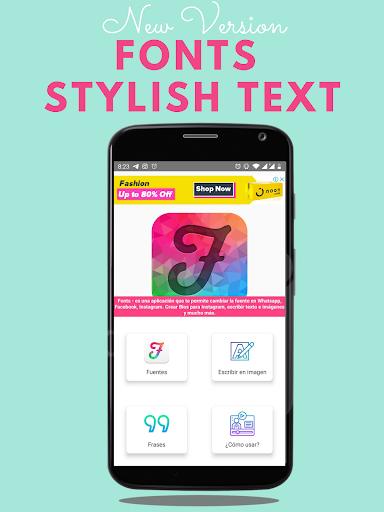 Fonts - Stylish Text & Cool Fonts 1.2.2 screenshots 1