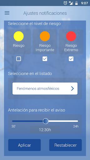 El tiempo de AEMET 2.1 Screenshots 2