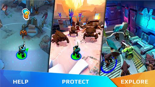Warsmiths:army survival saga on a rebel planet 1.0 screenshots 1