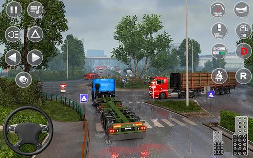 Euro Truck Transport Simulator 2: Cargo Truck Game android2mod screenshots 5