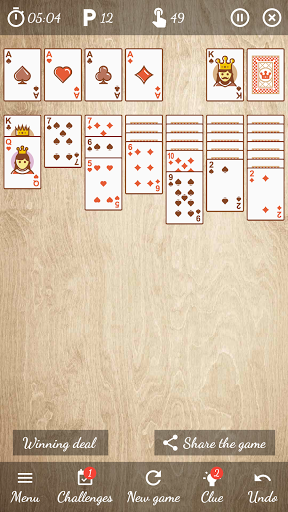 Solitaire Free Game 5.9 Screenshots 21