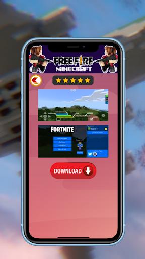 Update Mod Free fire for MCPE 1.4 Screenshots 5
