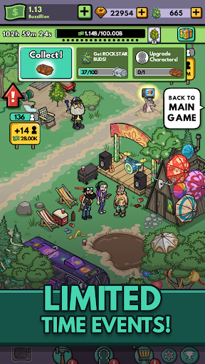 Bud Farm: Idle Tycoon - Build Your Weed Farm  screenshots 3