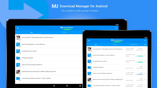 MJ Downloader - Accelerate and Organize Downloads