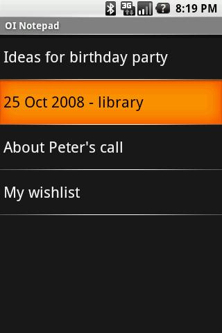OI Notepad  screenshots 1