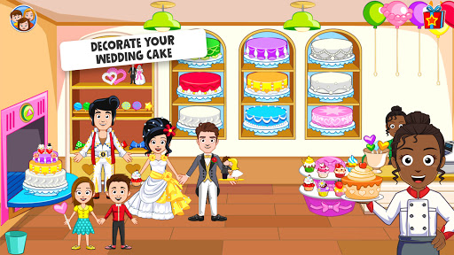 My Town: Wedding Day - The Wedding Game for Girls android2mod screenshots 4