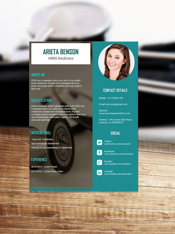 Resume Template, Resume Writer & Cover Letter  poster 8