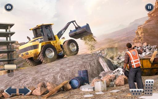 Heavy Crane Excavator Construction Transport screenshots 7