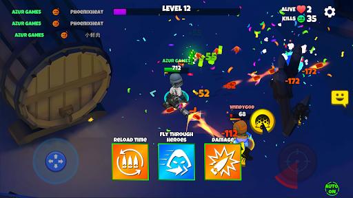 Télécharger Warriors.io - Action Battle Royale apk mod screenshots 4