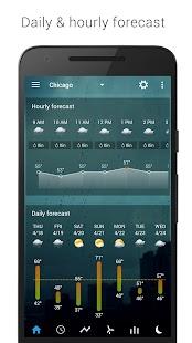 Sense Flip Clock & Weather (Ad-free) Screenshot