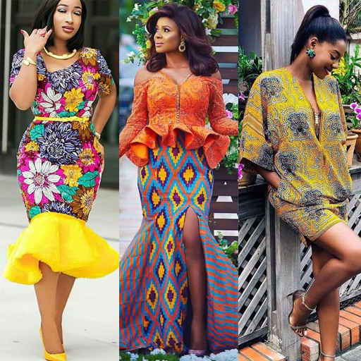 ANKARA LADIES DRESS STYLES 2021