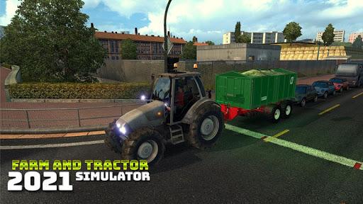 Real Farming and Tractor Life Simulator 2021 android2mod screenshots 1