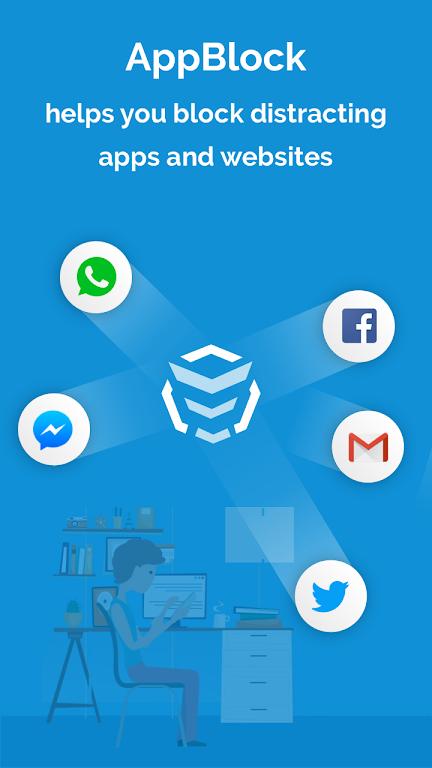 AppBlock - Stay Focused (Block Websites & Apps)  poster 0