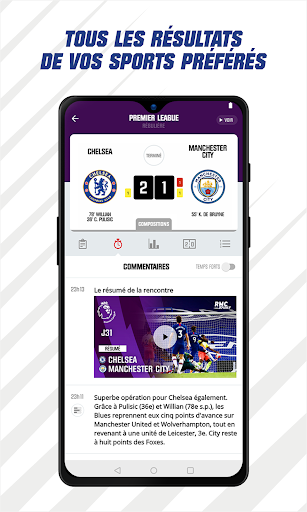 RMC Sport News - Actu Foot et Sports en direct 5.0.2 Screenshots 5