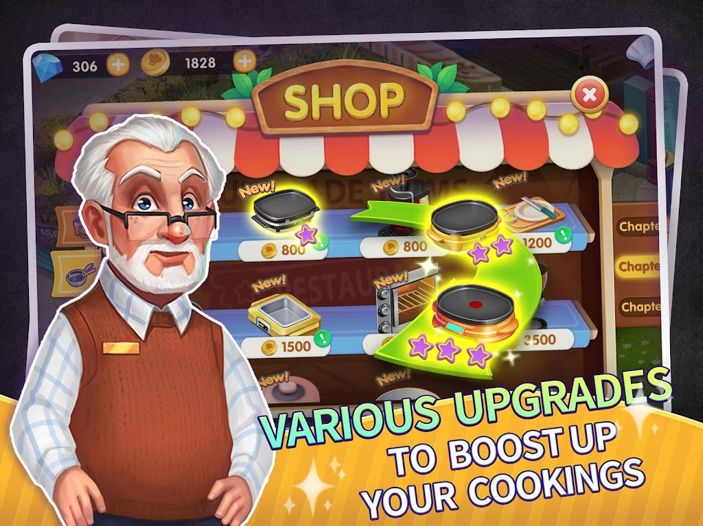 My Restaurant Empire - 3D Decorating Cooking Game  poster 11