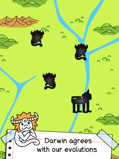 Monkey Evolution - Simian Missing Link Game android2mod screenshots 11