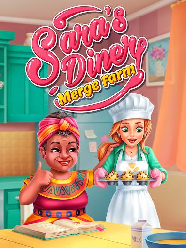 Saras Diner: Merge Farm  screenshots 8