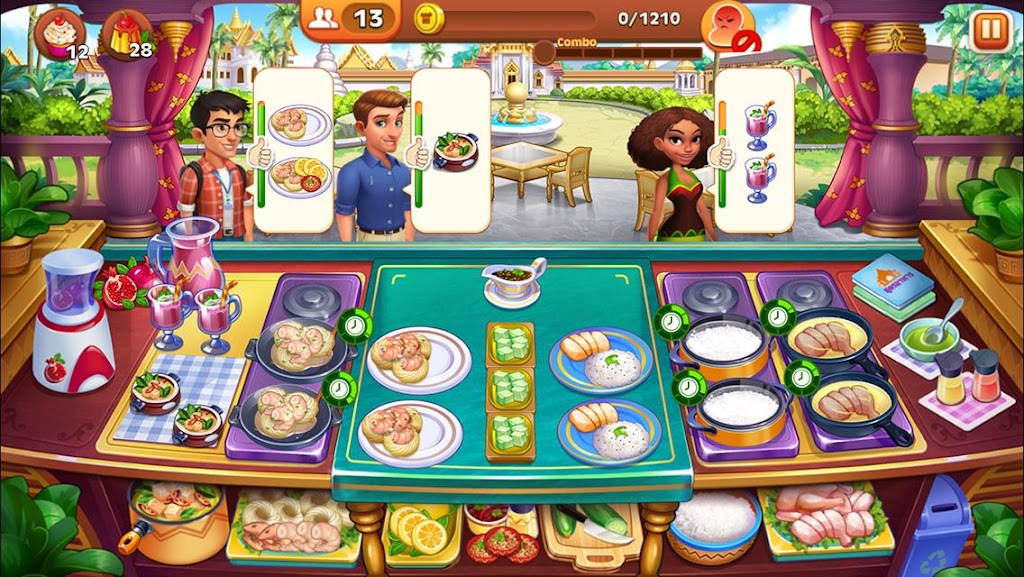 Cooking Madness - A Chef's Restaurant Games  poster 6