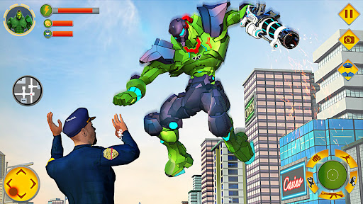 Incredible Monster Hero Robot Battle  screenshots 4