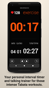 Tabata Timer and HIIT Timer MOD APK (Pro / Paid Unlocked) 1
