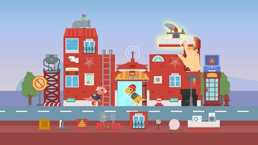Dinosaur City - Magical Block Kingdom for Kids apkpoly screenshots 1