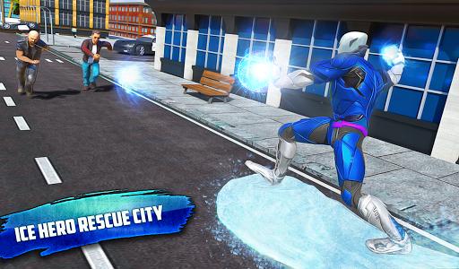 Flying Police Robot Snow Storm Hero: Crime City 6.0.0 Screenshots 9