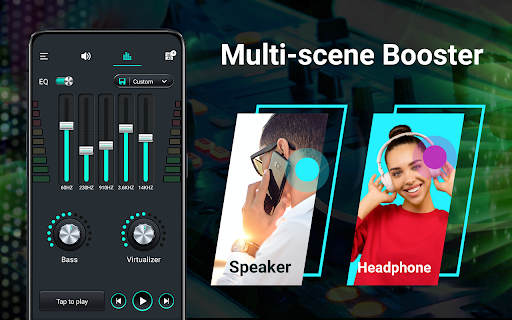 Volume booster - Sound Booster & Music Equalizer android2mod screenshots 11
