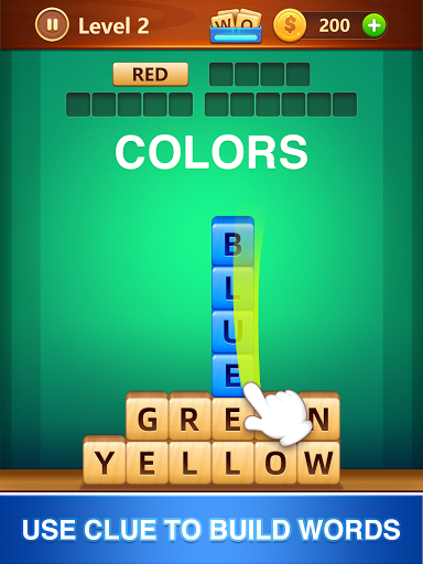 Word Fall - Brain training search word puzzle game android2mod screenshots 7