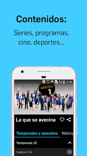 Mitele - Mediaset Spain VOD TV apktram screenshots 3