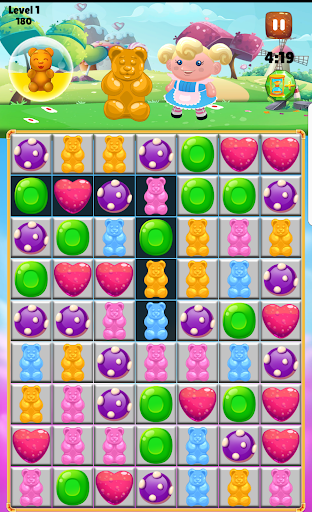 gummy bears crush - gummy bears games screenshot 2