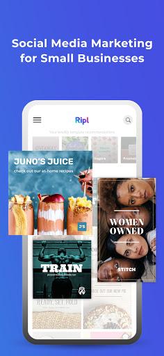 Ripl: Social Videos & Posts 4.0.361 screenshots 1