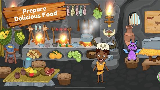 My Dinosaur Town - Jurassic Caveman Games for Kids 3.3 Screenshots 21