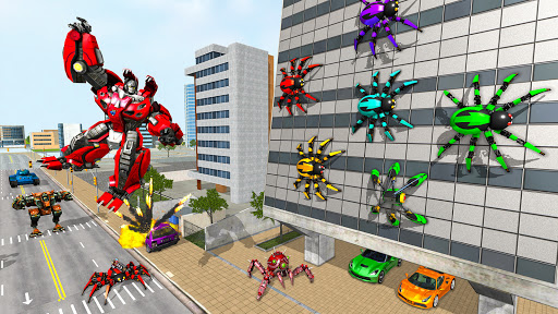 Spider Robot Game: Space Robot Transform Wars 1.0 screenshots 9