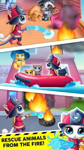 Kitty Meow Meow City Heroes - Cats to the Rescue! 4.0.21003 screenshots 3