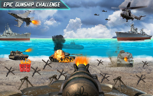 Call of Beach Defense: FPS Free Fun 3D Games  screenshots 3
