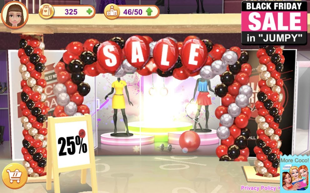 Shopping Mania - Black Friday Fashion Mall Game screenshot 11