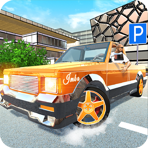 Off-Road Pickup Parking Icon