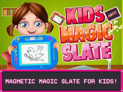 Kids Magic Slate Simulator - Toddlers Drawing Pad  screenshots 1