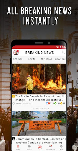 Canada Breaking News & Local News For Free 10.5.15 screenshots 3