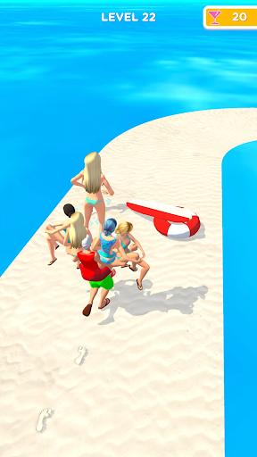 Beach Party Run Apkfinish screenshots 9