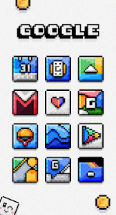 Squixel - Icon Pack Screenshot