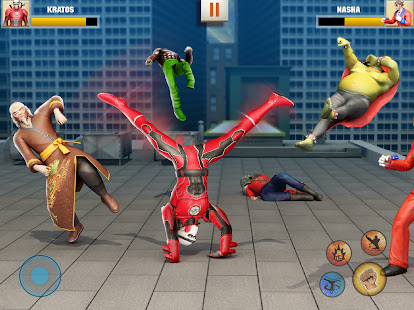 Ninja Superhero Fighting Games: City Kung Fu Fight