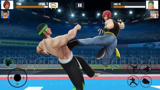 Tag Team Karate Fighting Games: PRO Kung Fu Master modiapk screenshots 1