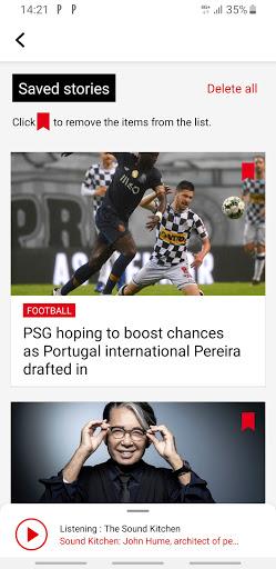 RFI - Radio France Internationale,  live news  screenshots 3