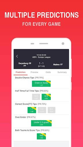 O Football - Betting Predictions & Tips 2.6 Screenshots 2